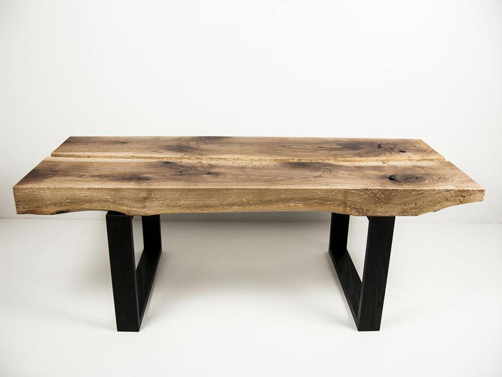 table basse noyer meubles antoine mazurier. Black Bedroom Furniture Sets. Home Design Ideas
